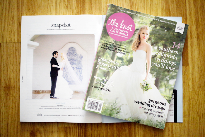 the knot wedding magazine spring 2014